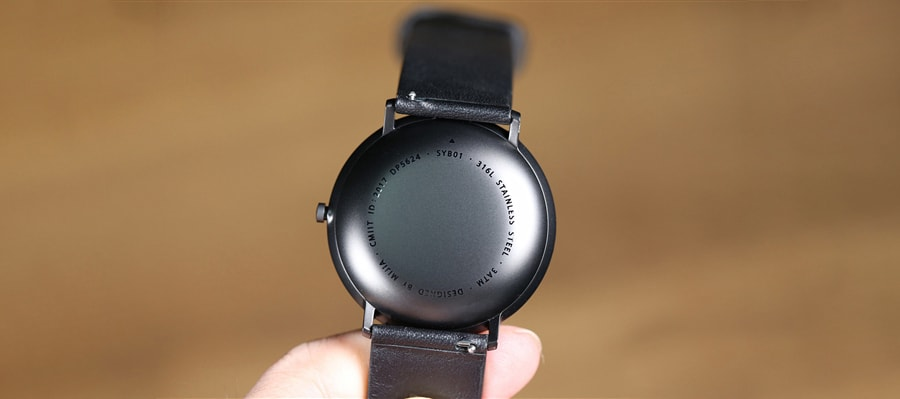 Mijia Quartz Watch сзади